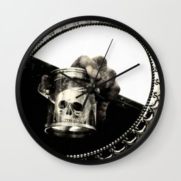 Confronting Death Wall Clock