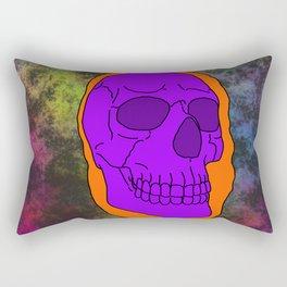 Halloween Skull Rectangular Pillow