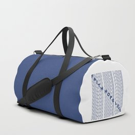 Faith Hope Love Duffle Bag