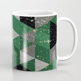 Slytherin House Pattern Coffee Mug