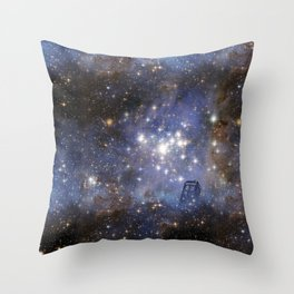 Adventures in Time and Space Throw Pillow