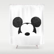 Mickey Hatching Shower Curtain
