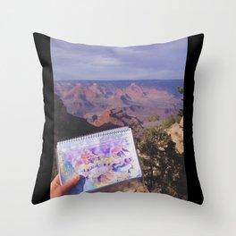 South Rim, Grand Canyon Throw Pillow