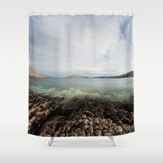 Under horizon Shower Curtain