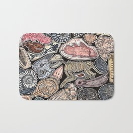 Fossils for history, dinosaur and archaeology lovers Bath Mat