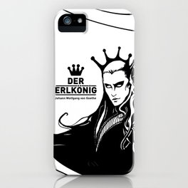 Der Erlkönig iPhone Case