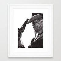 django Framed Art Prints featuring Django by Rik Reimert