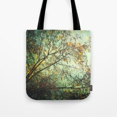 magic in the forest/ green Tote Bag