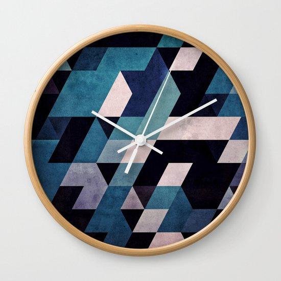 blux redux Wall Clock