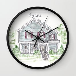 University of Dayton, Ohio Iota, Greek, House Wall Clock