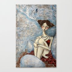The Anticipation of Spring Canvas Print