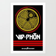 BladeRunner- VidPhon Art Print