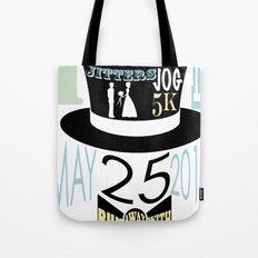 5K WEDDDING RUN Tote Bag