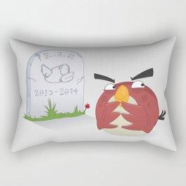 Happy Bird Rectangular Pillow