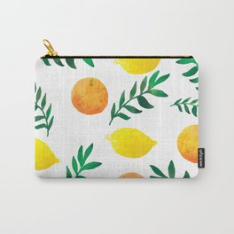 Fresh lemon and orange Carry-All Pouch