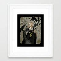 cinderella Framed Art Prints featuring Cinderella by Abigail Larson