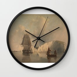 Off the Needles Isle of Wight Wall Clock