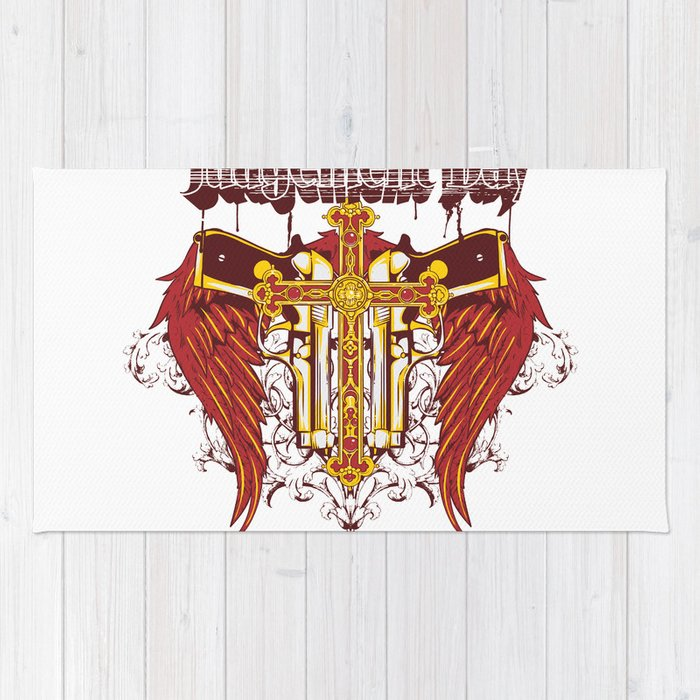 Judgement day Rug