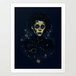 Scarry Night Art Print
