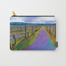 On The Michigan Wine Trail/Chateau De Leelanau Carry-All Pouch