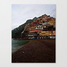 Positano: Amalfi Coast, Italy Canvas Print