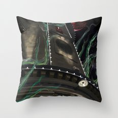 Shinra Empire Throw Pillow