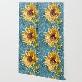 """""""Sunflower Daze"""" Wallpaper"""