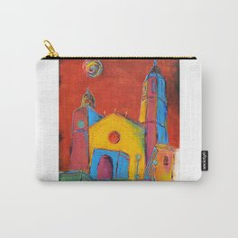 Sitges Church Carry-All Pouch