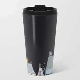 Cats in Paris Travel Mug