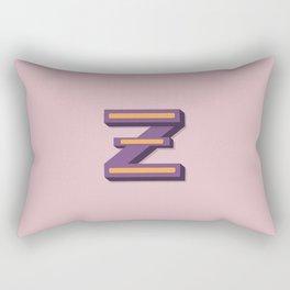 The Letter Z Rectangular Pillow