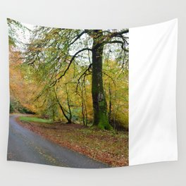 Scotland Backroad Wall Tapestry