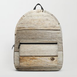 Rustic Barn Board Wood Plank Texture Backpack