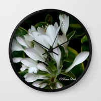dancing Wall Clocks featuring Dancing by Robin Lusk