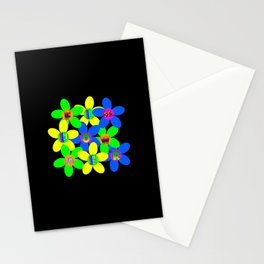 Flower Power 60s-70s Stationery Cards