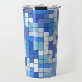 Tetris Camouflage Marine Travel Mug
