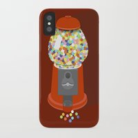gumball iPhone & iPod Cases featuring Gumball Machine by Haley Jo Phoenix