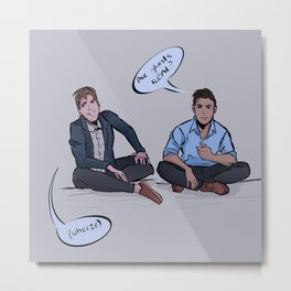 Buzzfeed Unsolved, Are ghosts real? Metal Print