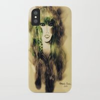 emerald iPhone & iPod Cases featuring Emerald by Cornelia Baciu