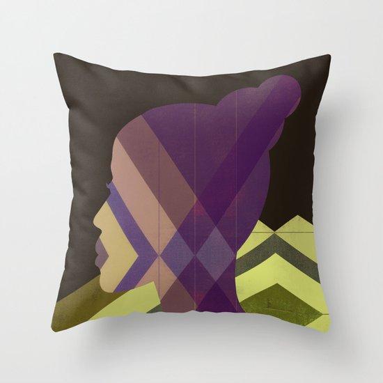 1970s Throw Pillow