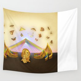 The Lonely Shepherds Wall Tapestry