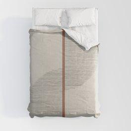 Geometric Composition II Comforters