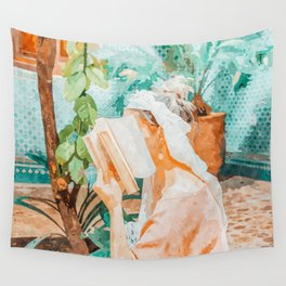 Turkish Reader Wall Tapestry