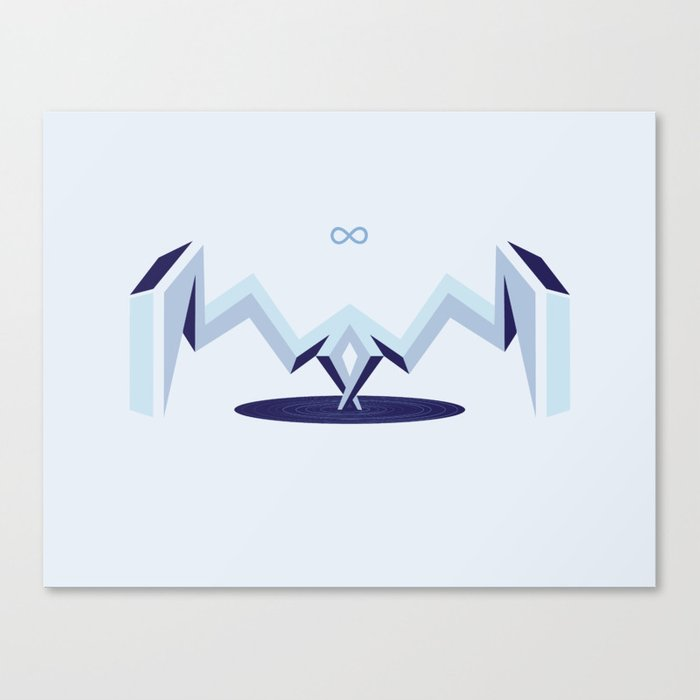 Infinity Portal Canvas Print