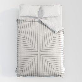 Converge Four Black Comforters