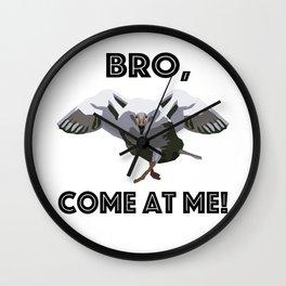 Goose Attack! Wall Clock