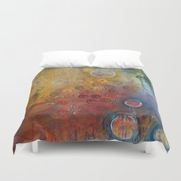 Rejuvenate: Up Close Duvet Cover