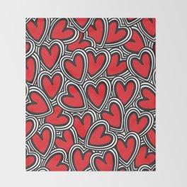 Love, love, love Throw Blanket