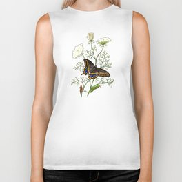 Black Swallowtail Biker Tank