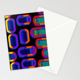 90's Tic Tac Pattern Stationery Cards