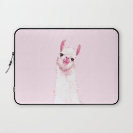 Llama Pink Laptop Sleeve